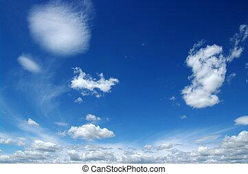 white felhő