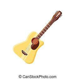 white háttér, gitár, akusztikai