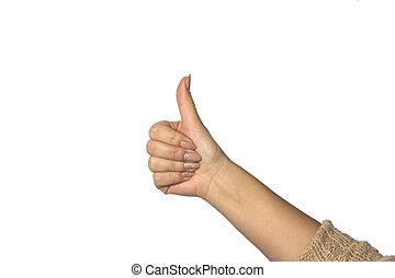 white háttér, női kezezés