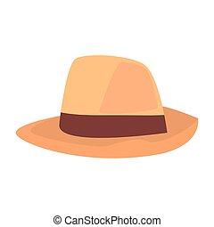 white kalap, háttér, kiegészítő