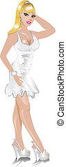 white ruha, esküvő