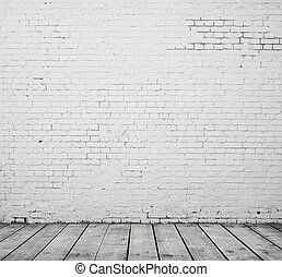 white tégla, szoba
