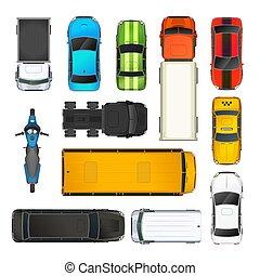 white tető, állhatatos, kilátás, különböző, autók