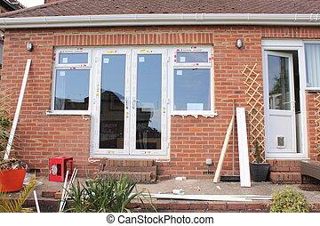 windows, új, műanyag