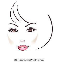 woman arc, gyönyörű
