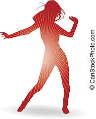 woman táncol