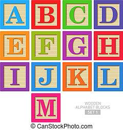 wooden alphabet gátol