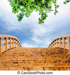 wooden bridzs, ég