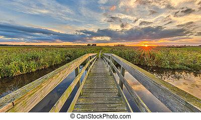 wooden bridzs, útvonal, kerékpározás
