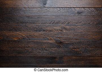 wooden tető, falusias, háttér, asztal, kilátás