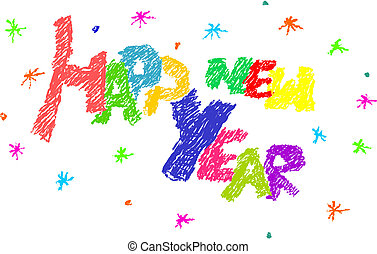 year., boldog, új