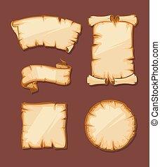 yellowish, középkori, retro, cikornyázik, tiszta