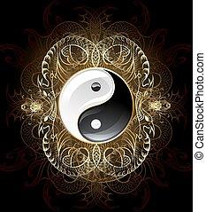 yinyang, jelkép, (yin-yang)