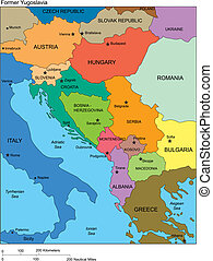 yugoslavia, országok, előbbi, címek