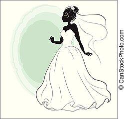 zápor, menyasszony, white ruha, esküvő