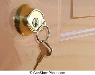 zár, kulcs