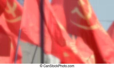 zászlók, piros