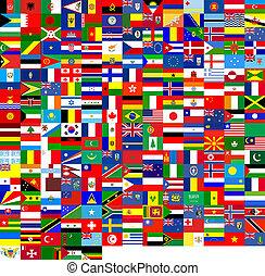 zászlók, struktúra