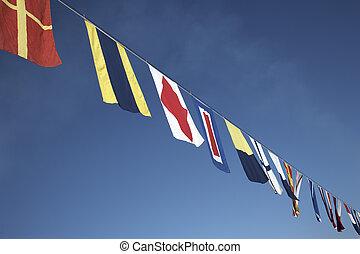zászlók, tengeri