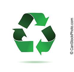 zöld, újrafelhasználás