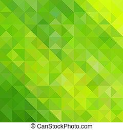 zöld absztrahál, háromszög, háttér
