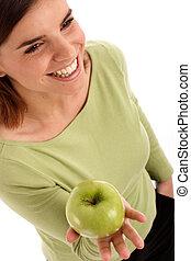 zöld alma