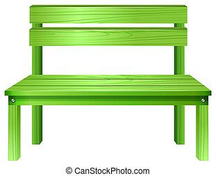 zöld, bírói szék