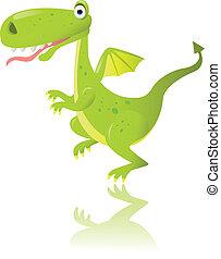 zöld dragon