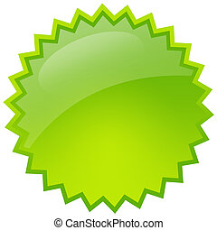 zöld, loccsanás, csillag