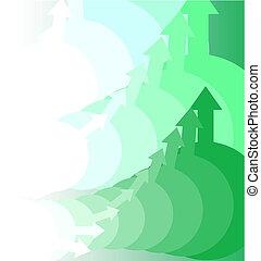 zöld, mozgalom