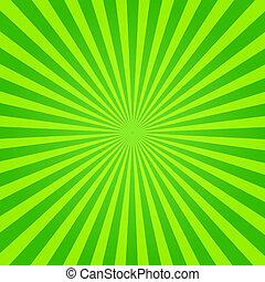 zöld, rövid napsütés, sárga