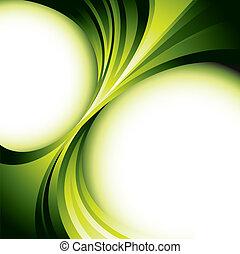 zöld, tervezés, háttér