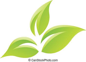zöld, zöld, sima, ikon