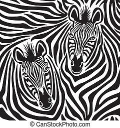 zebra, párosít