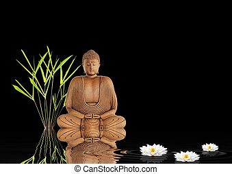 zen, buddha, csend