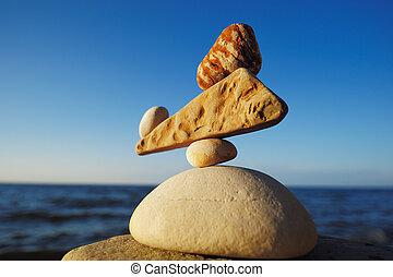 zen-like, egyensúly