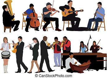 zeneértők, gyűjtés