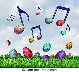 zene, eredet, húsvét
