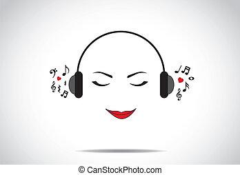 zene, fogalom, szeret, kihallgatás