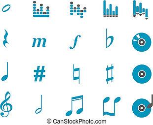 zene, ikon, állhatatos