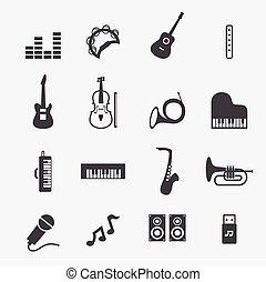 zene, ikon