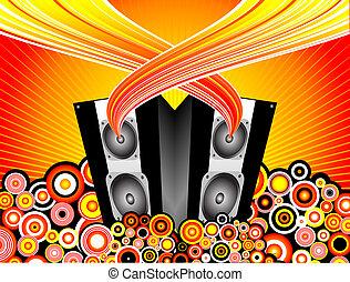 zene, kitörés