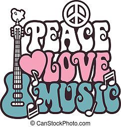 zene, pink-blue, szeret, béke
