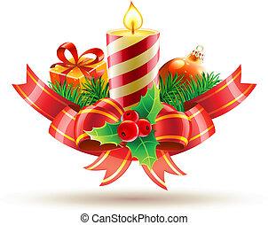 zenemű, dekoratív, karácsony