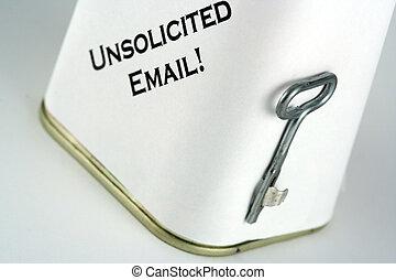 zománc, spam