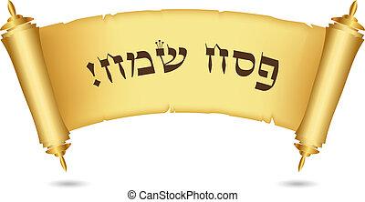 zsidó húsvét, boldog