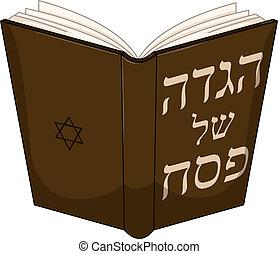 zsidó húsvét, haggdah, könyv